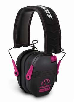 Walker's Razor Slim Electronic Muffs Pink