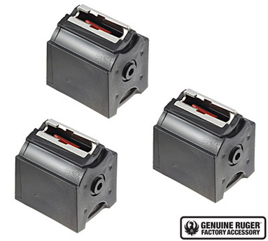 Ruger BX-1 Magazine 10 Round .22lr - pack of 3